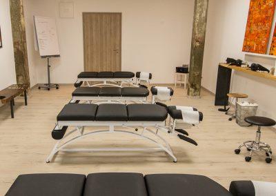 Foto Monika Fischer mediengestaltung - Chiropraxis Chiemgau Behandlungsraum