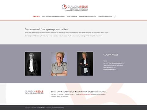 Claudia Riedle • Beratung, Supervision, Coaching, Erlebnispädagogik