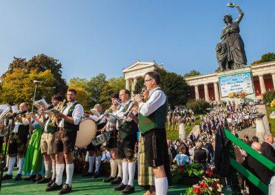 Foto Monika Fischer mediengestaltung - Oktoberfest 2017 Platzkonzert 1