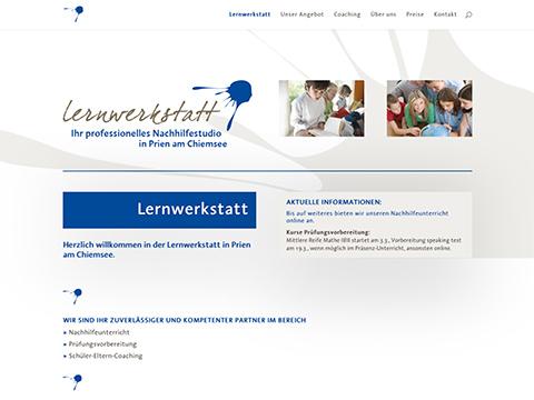 Lernwerkstatt Prien - ihr professionelles Nachhilfestudio für Nachhilfeunterricht, Prüfungsvorbereitung, Ferienkurse und Coaching