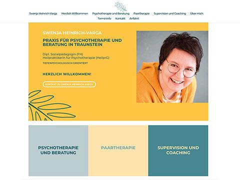 Praxis für Psychotherapie (HeilprG) und Beratung in Traunstein - Swenja Heinrich-Varga
